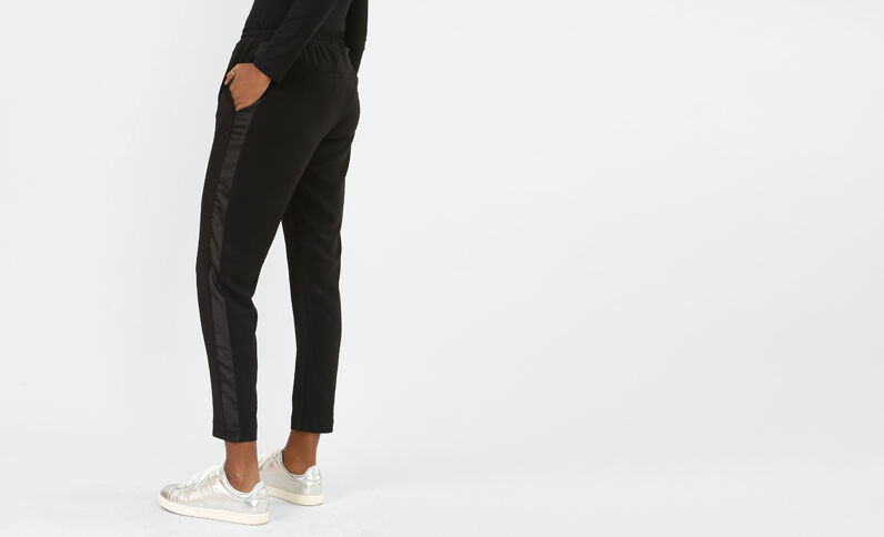Pantaloni da jogging morbidi nero