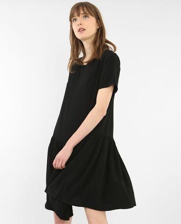 Robe à basque noir