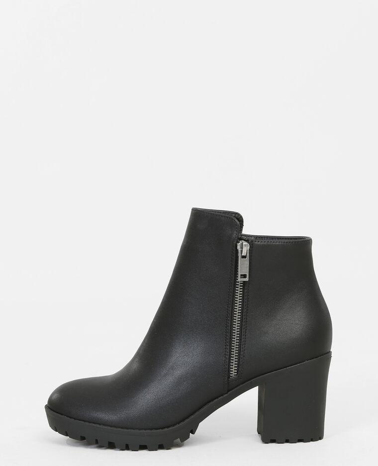 Boots motardes - 986138899A08 | Pimkie