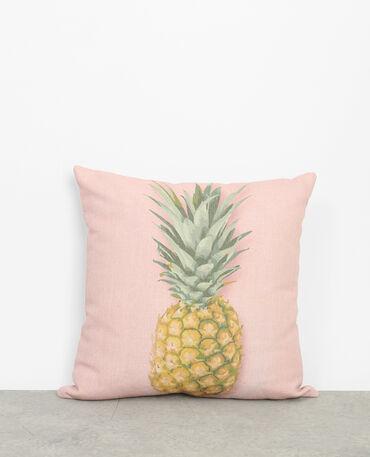 Federa per cuscino ananas rosa