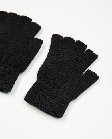 Lotto di mezzi guanti nero