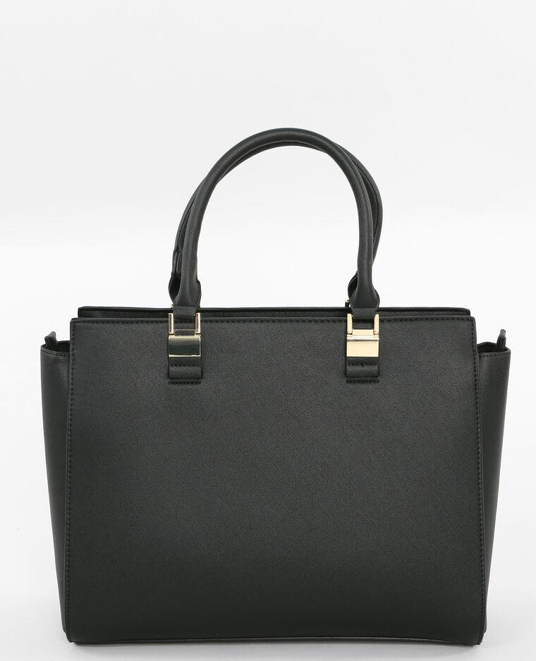 Borsa shopping con porta gioielli nero