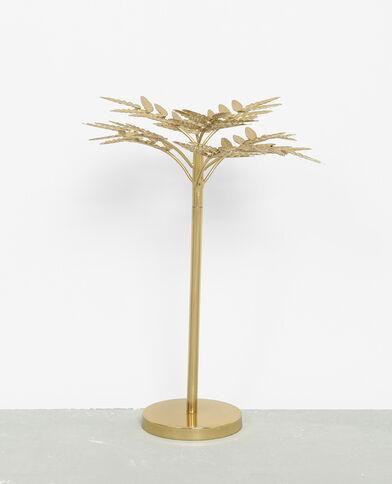 Palma in metallo decorativa dorato