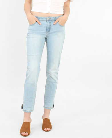 Jean skinny 7/8 bleu clair