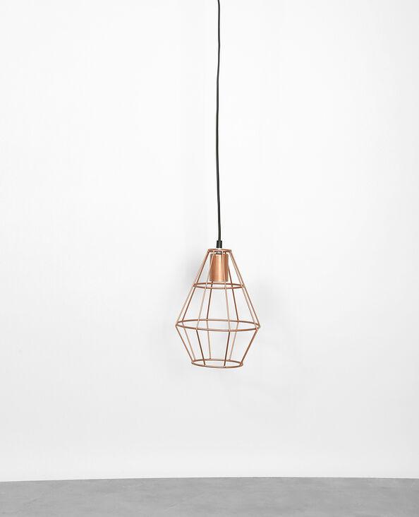 Lampenschirm aus Metall Kupferrot