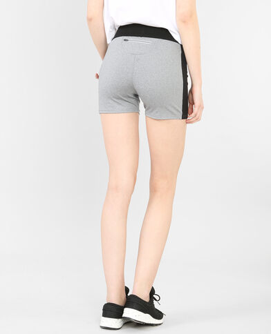 Sportliche Shorts Anthrazitgrau