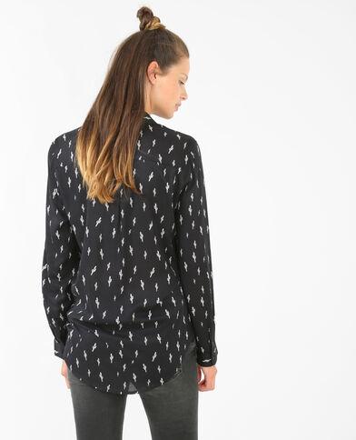Camicia cactus nero