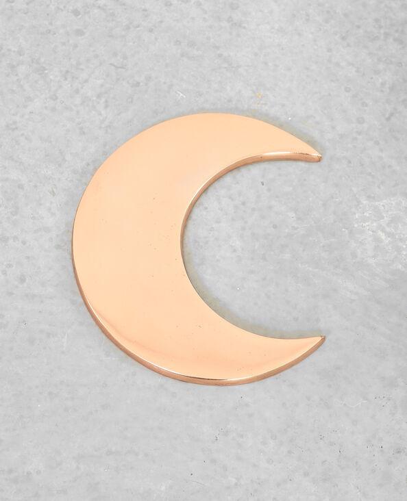 Wanddekoration Mond Kupferrot