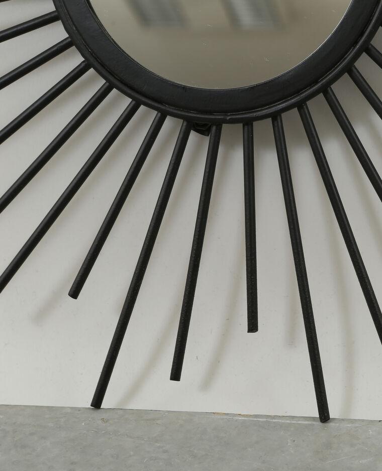 miroir soleil noir 50 907271899a07 pimkie. Black Bedroom Furniture Sets. Home Design Ideas