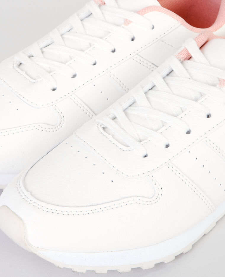 Deportivas de moda blanco