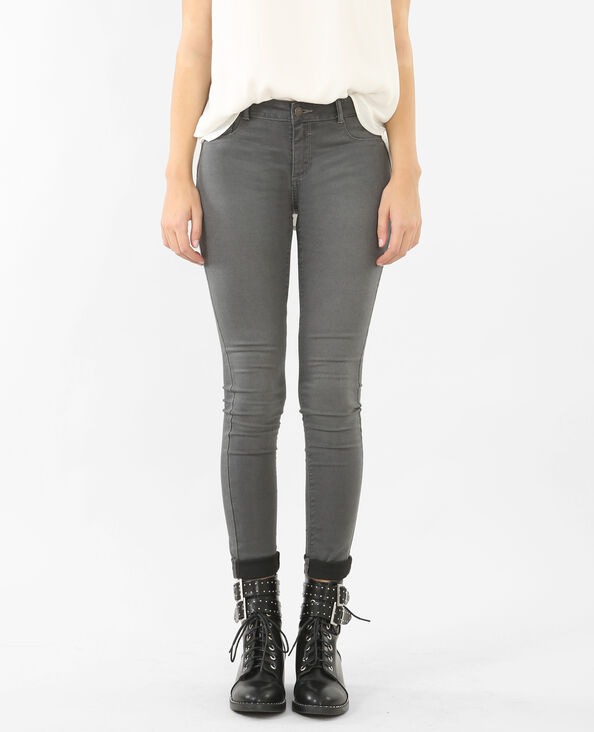 Jeggings básicos gris