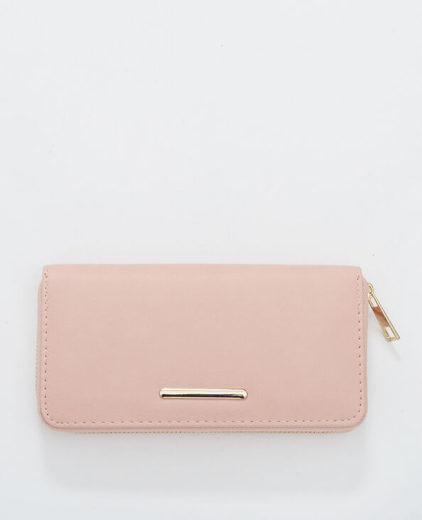 Portefeuille compagnon rose