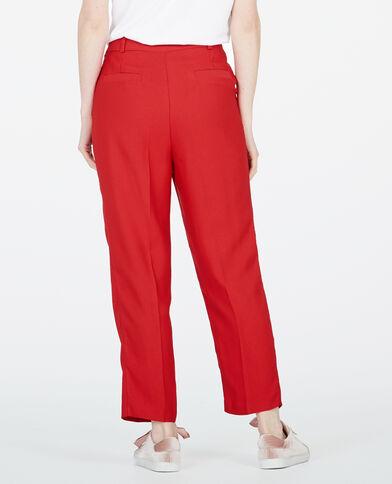 Pantalón city rojo