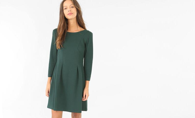 Vestido de patinadora verde