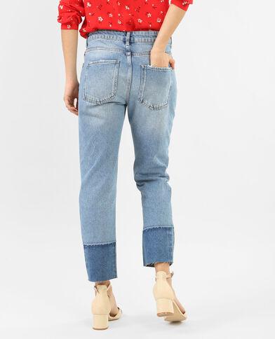 7/8-Jeans in 2 Farbtönen Denimblau