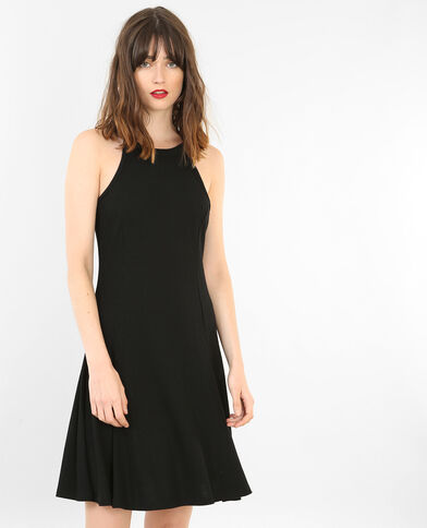 Vestido trapecio negro