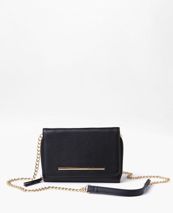 Micro sac pochette noir
