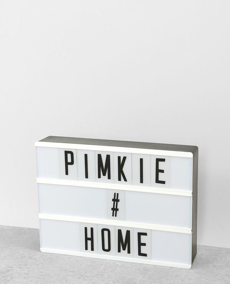lightbox a4 cru 30 902586903i0a pimkie. Black Bedroom Furniture Sets. Home Design Ideas