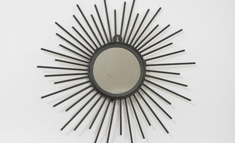 Miroir soleil noir