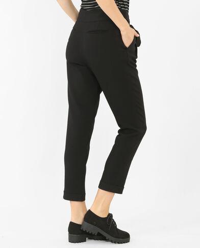 Pantalone carrot nero