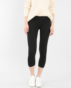 Leggings cortos negro