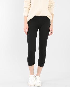 Leggings cortos negro