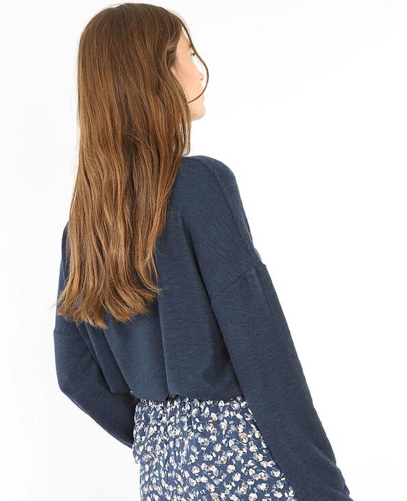 Pull homewear bleu indigo