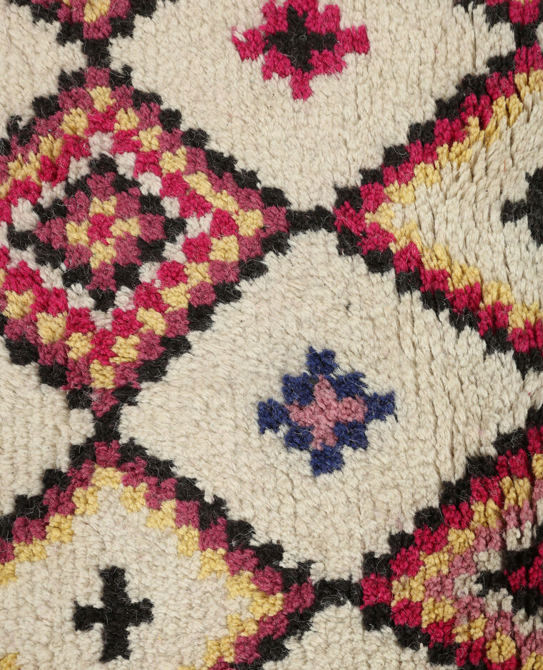 Tapis berb re color bleu 904083a60i0a pimkie for Decoration murale berbere