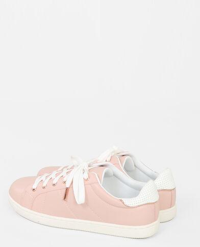 Baskets pastel rose pâle