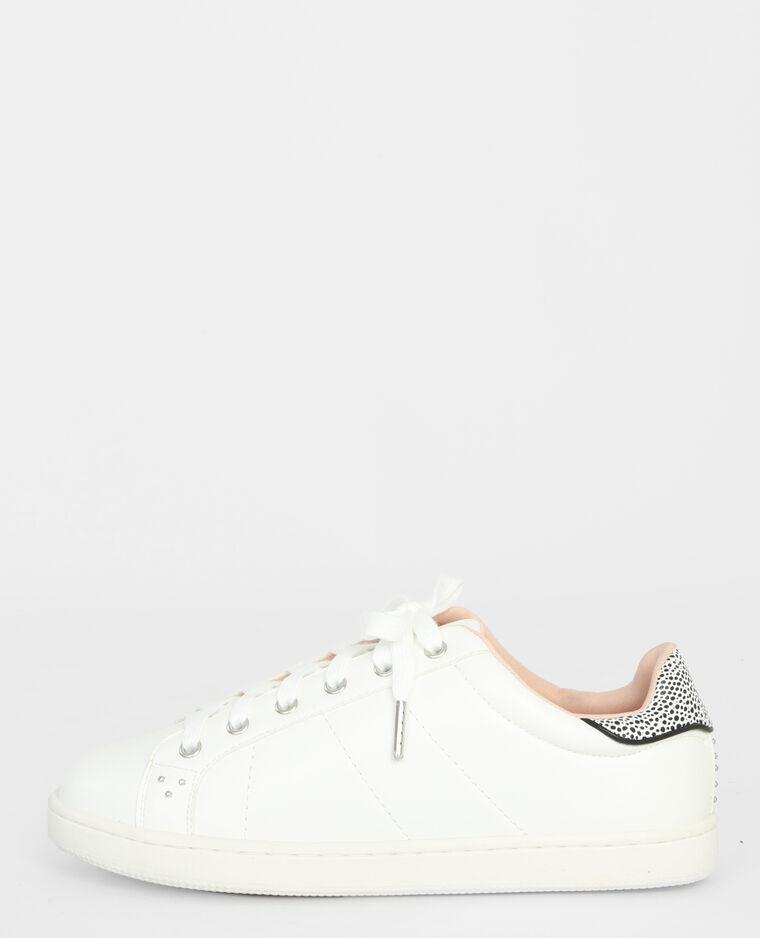 Scarpe da tennis con dettaglio sul tacco bianco