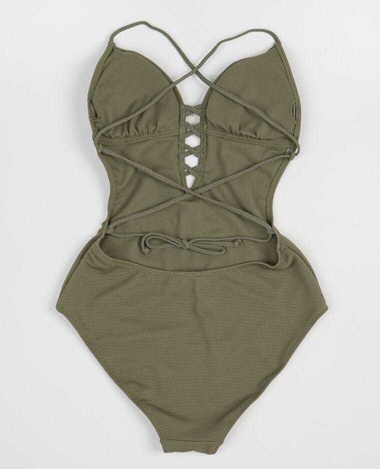 maillot de bain une pi ce vert 902365c47a05 pimkie. Black Bedroom Furniture Sets. Home Design Ideas
