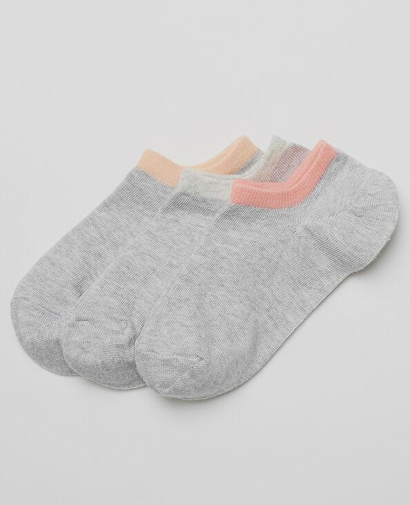 Lotto di calze invisibili topo