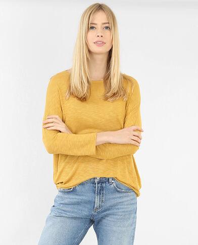 Camiseta mangas murciélago amarillo
