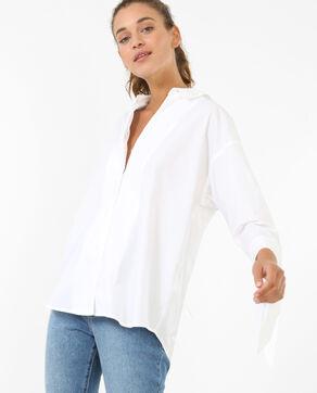 Chemise à nœuds blanc