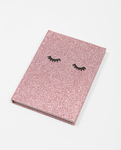 Notebook glitter rose