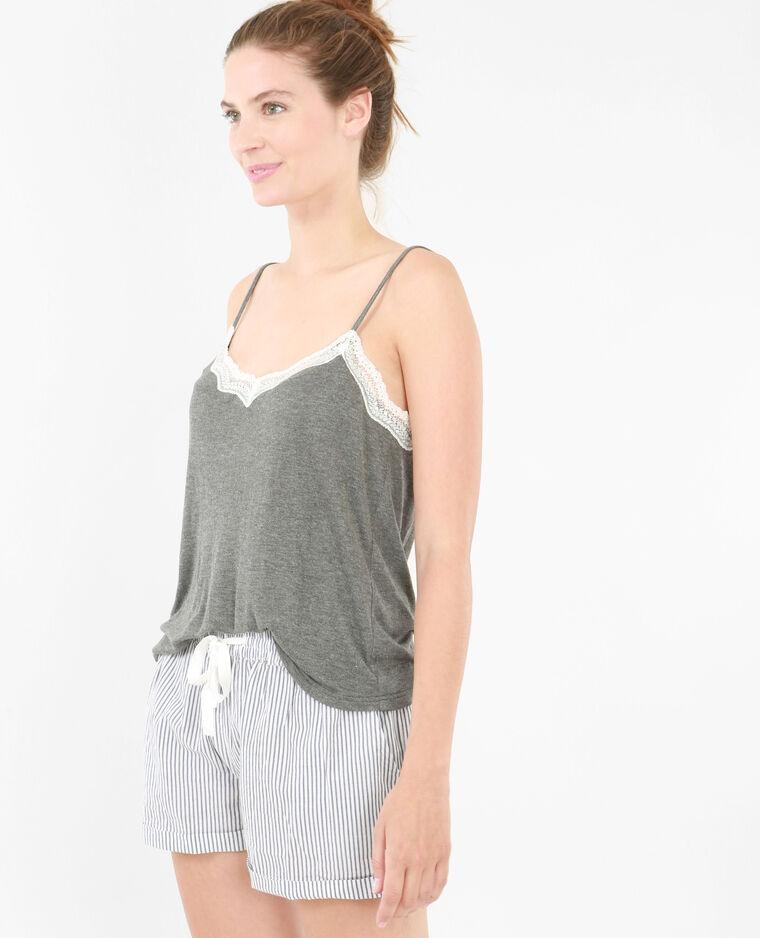 Camiseta homewear gris