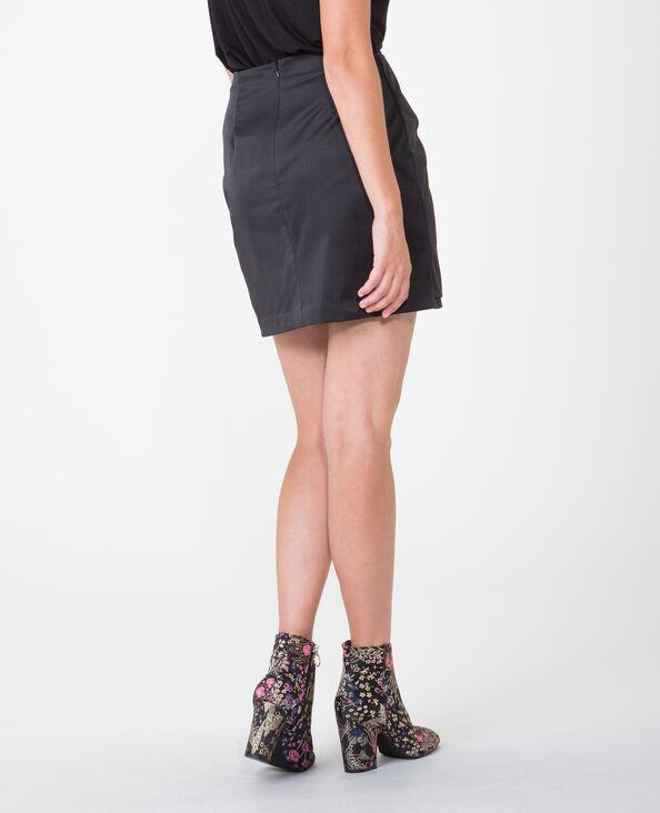 Falda para anudar negro