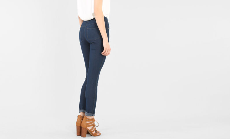 Jegging azul natural azul
