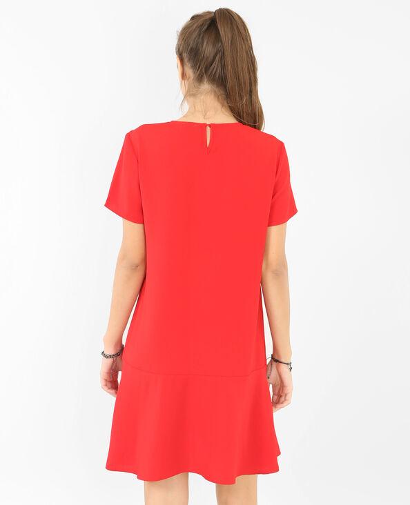 Weites Kleid Rot