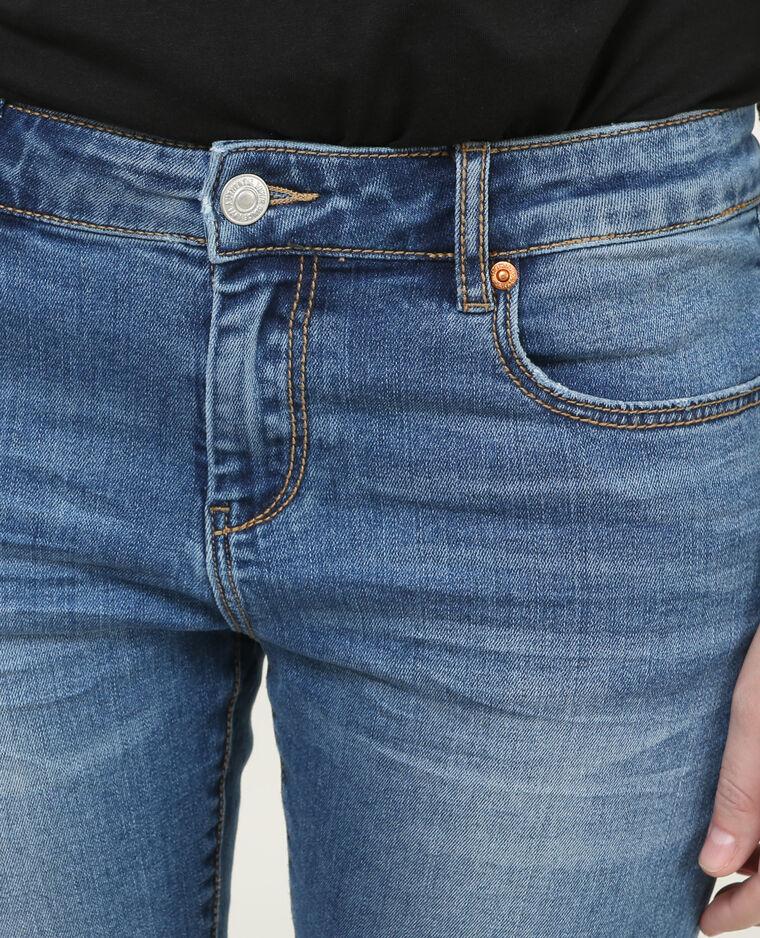 skinny jeans im destroyed look denimblau 140160683a06 pimkie. Black Bedroom Furniture Sets. Home Design Ideas