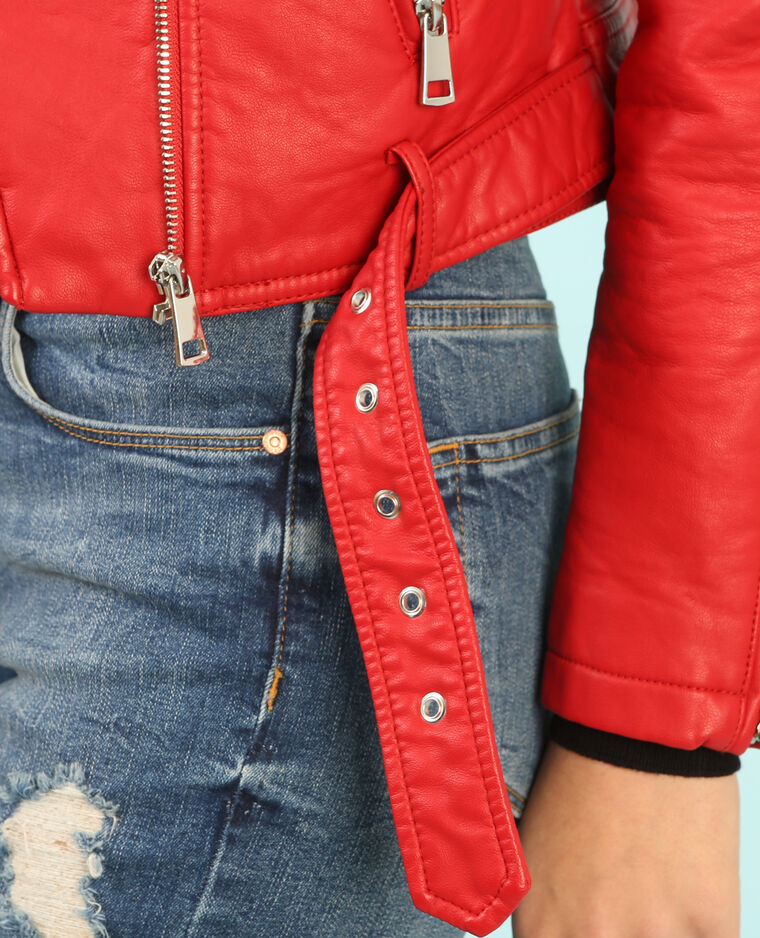 Giacca da motociclista Rosso