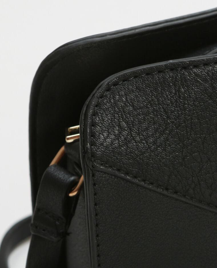 kleine tasche mit rei verschluss schwarz 980143899a08. Black Bedroom Furniture Sets. Home Design Ideas