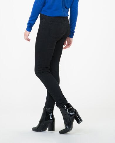 Jeans skinny talle alto negro