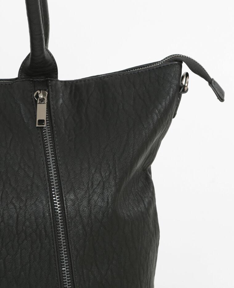 gro e tasche mit rei verschluss schwarz 983118899a08 pimkie. Black Bedroom Furniture Sets. Home Design Ideas