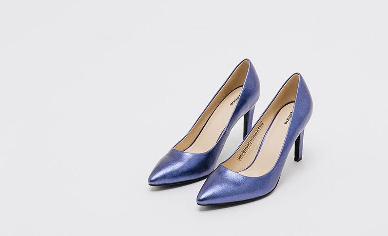 Shiny pumps elektrisch blauw