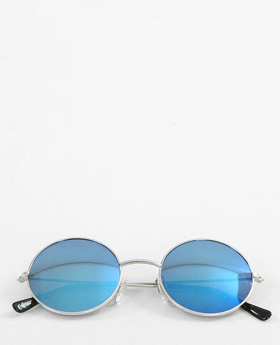 Gafas de sol redondas gris