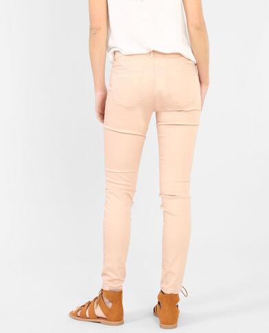 Pantalón skinny rosa maquillaje