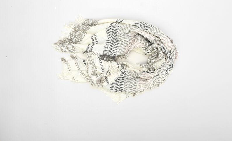 Sciarpa in tessuto Beige