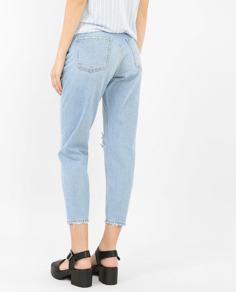 Jeans Mom Destroy Blu 140331684a06 Pimkie