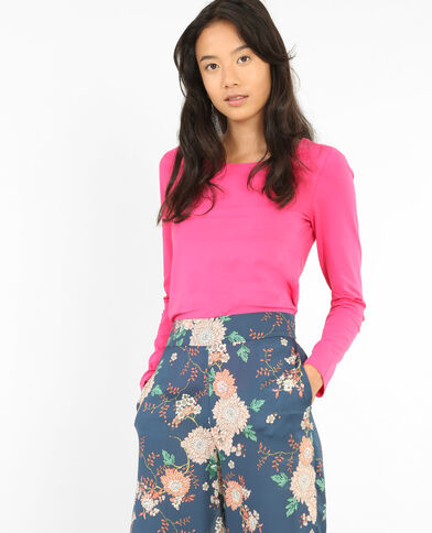 - T-shirt maniche lunghe Rosa